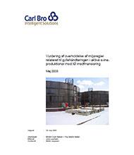 Carl Bro vurdering af overholdelse af miljøregler