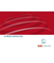 IFU project portfolio 2016