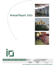 IØ Annual Report 2003